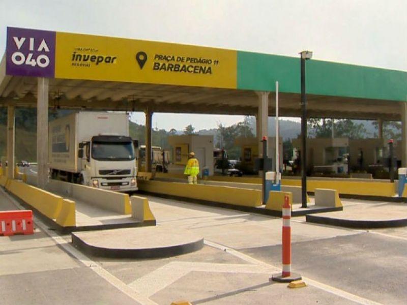 Justiça Federal restabelece tarifa de pedágio em R$ 5,30 na BR-040 entre Brasília e Juiz de Fora