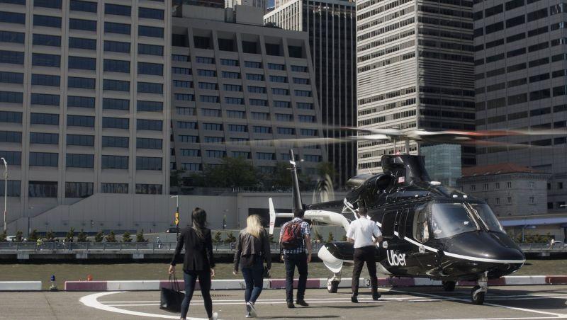 'Uber voador': app lança viagens de helicóptero; veja preço