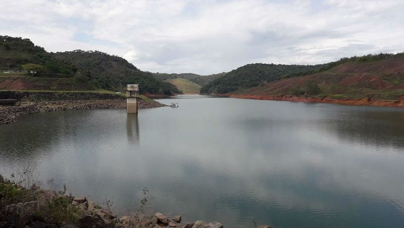 Represa Chapéu d'Uvas em Juiz de Fora registra o maior nível de água dos últimos três anos; veja situação de outros reservatórios