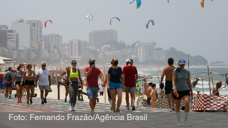 Rio pode liberar máscaras em locais abertos na próxima semana