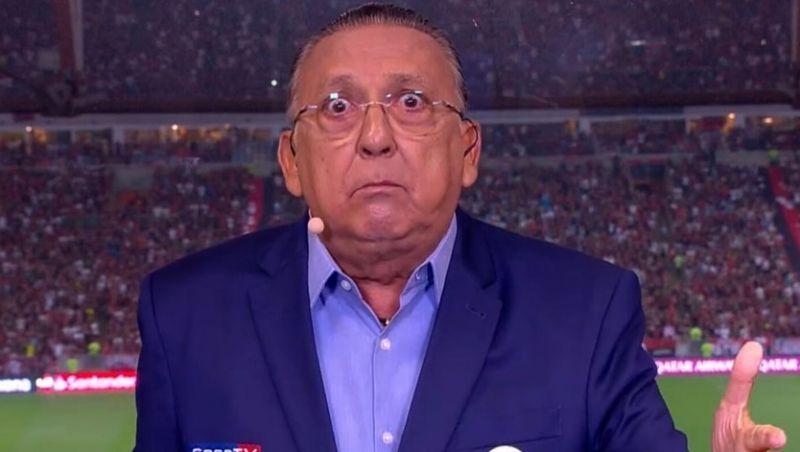 Galvão Bueno revela que não deve narrar a Copa de 2022: 'Acho que não vai dar'