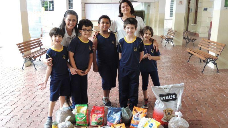 Crianças se mobilizam para ajudar cães abandonados em Juiz de Fora
