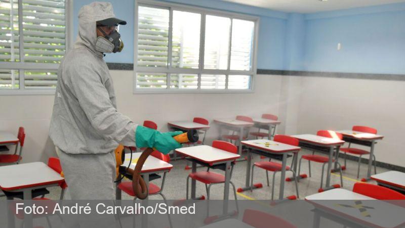 Covid-19: variante delta suspende aulas em 26 cidades do estado do Rio