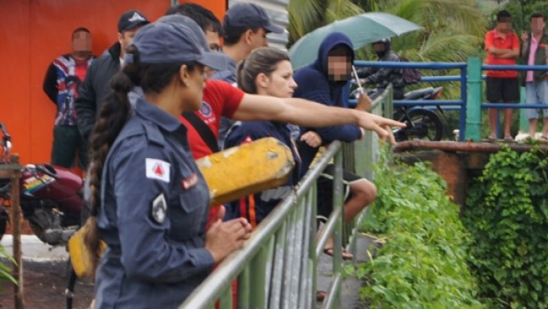 Suposto caso de afogamento no Rio Muriaé mobiliza Corpo de Bombeiros