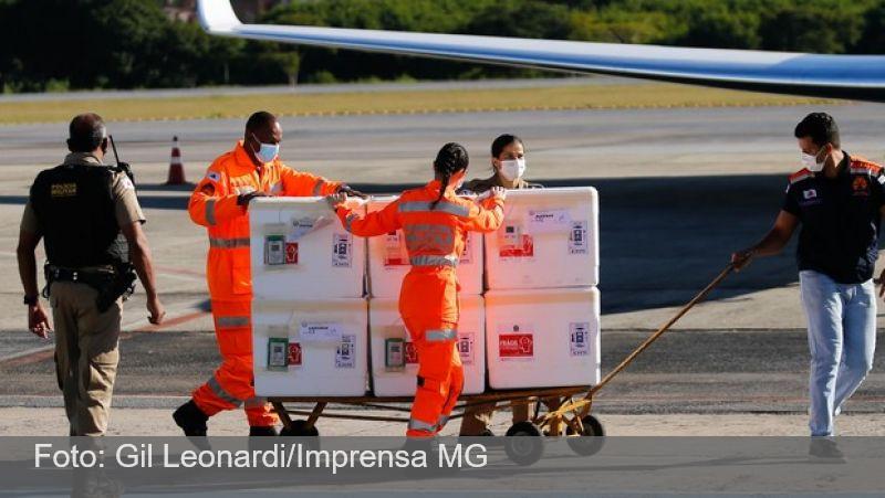 Governo de Minas distribui mais 374 mil doses de vacinas