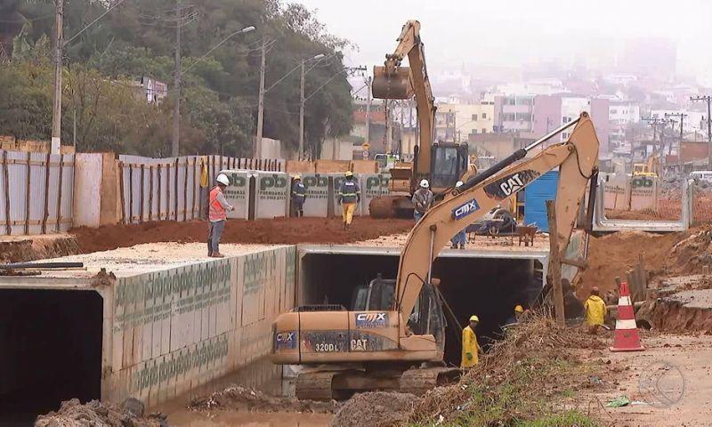 Obras paralisadas na BR-440 desde 2012 são retomadas em Juiz de Fora