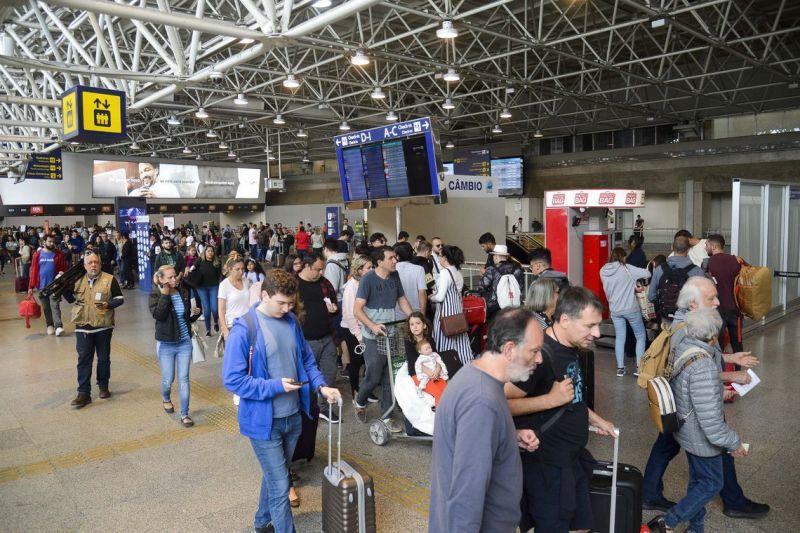 Nove aeroportos brasileiros estão entre os mais pontuais do mundo