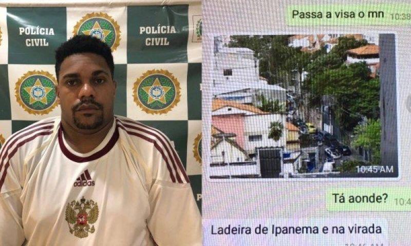 Traficante que monitorava polícia por aplicativo é preso em Ipanema, na Zona Sul do Rio