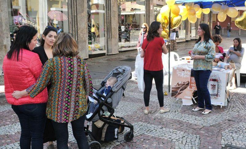"""""""Agosto Dourado"""": Banco de Leite promove ação sobre aleitamento materno nesta quinta em JF"""