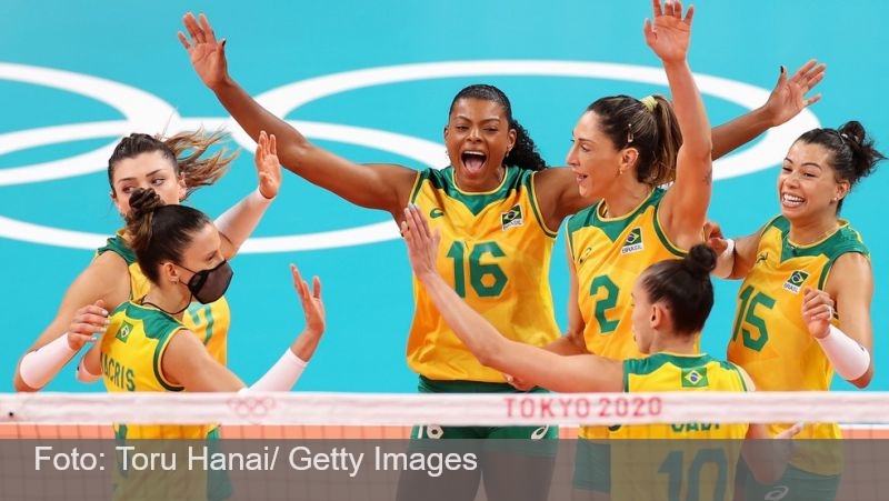 Com vôlei, Brasil bate recorde de medalhas