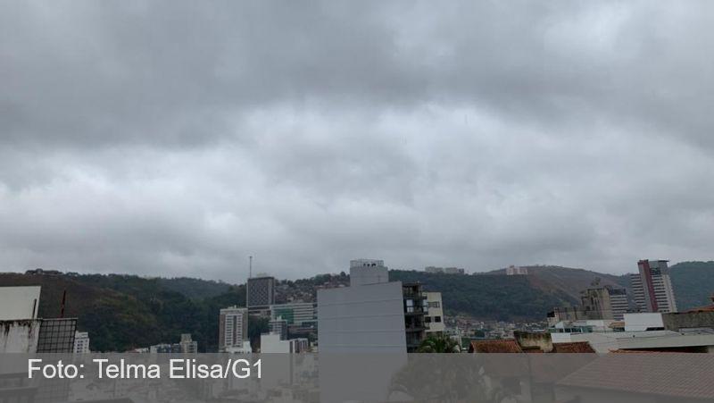 Chuvas moderadas marcam fim de semana na Zona da Mata e Vertentes