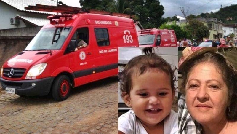 Tragédia familiar em Itaperuna: criança de 2 anos e avó se afogam na piscina de casa