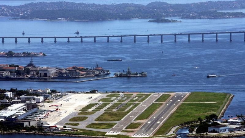 Reforma na pista principal vai limitar voos no Aeroporto Santos Dumont