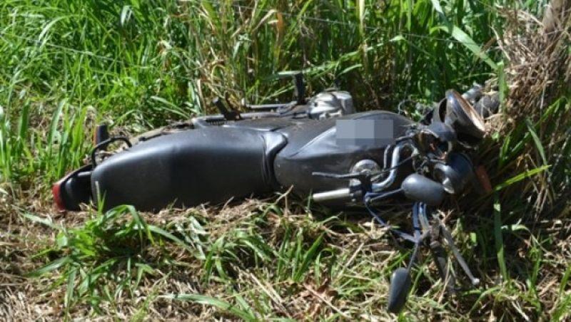 Motociclista fica gravemente ferido em acidente entre Miraí e Muriaé