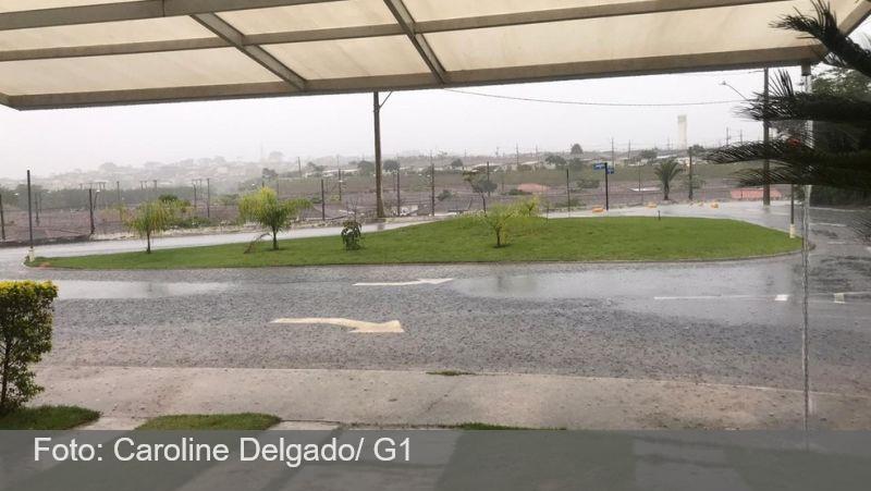 Volume de chuvas em novembro é quase o dobro em relação ao mesmo período de 2019 em Juiz de Fora