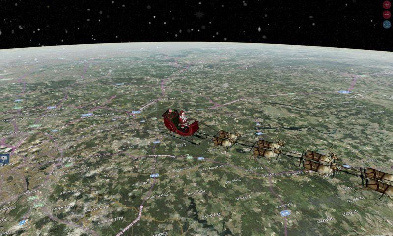 Papai Noel inicia maratona mundial; site rastreia seus movimentos