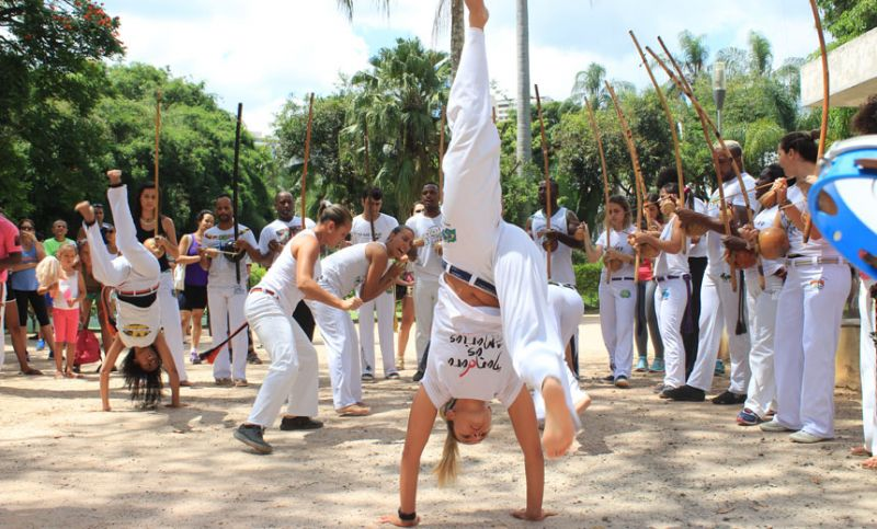 Parque do Museu Mariano Procópio em JF recebe roda de capoeira no domingo