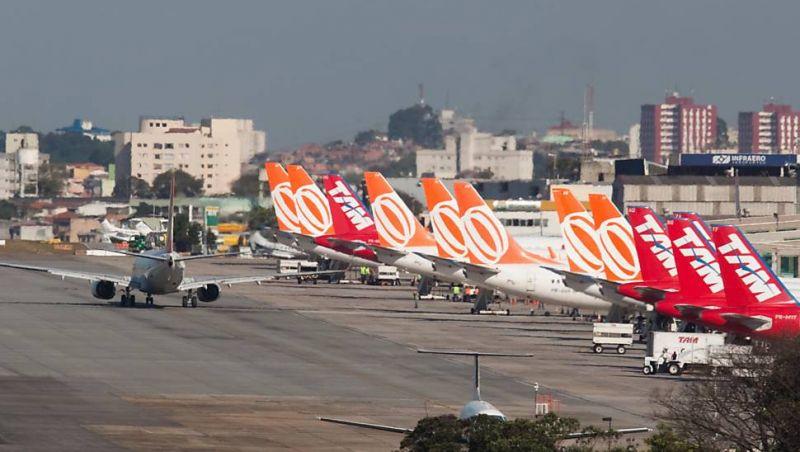 Companhias aéreas brasileiras transportaram 103 milhões de passageiros em 2018