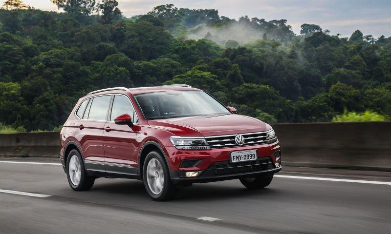 Volkswagen faz recall de uma unidade do Tiguan Allspace