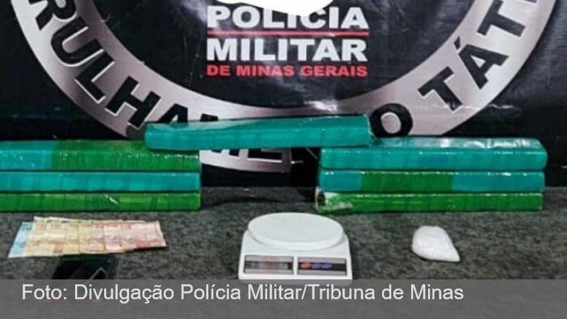 PM prende três pessoas por tráfico de drogas nas regiões Sul e Leste de JF
