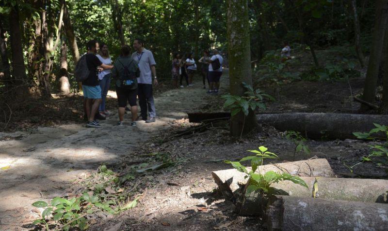 Salles reabre Parque Nacional da Tijuca e defende concessões