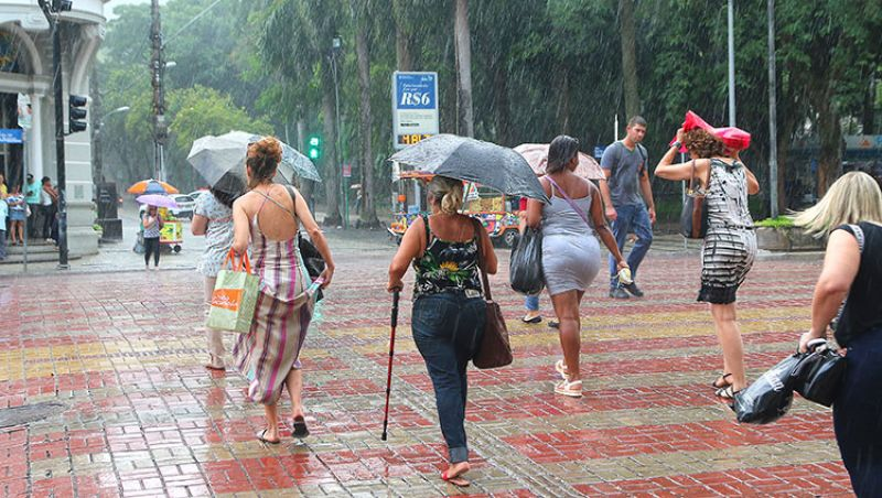 Juiz de Fora volta a registrar chuva após nove dias