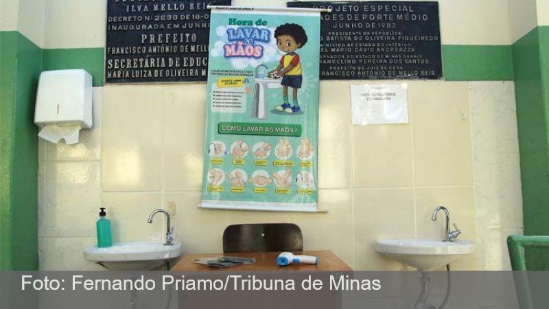 Mais de cem escolas infantis retomam as aulas presenciais nesta segunda em JF