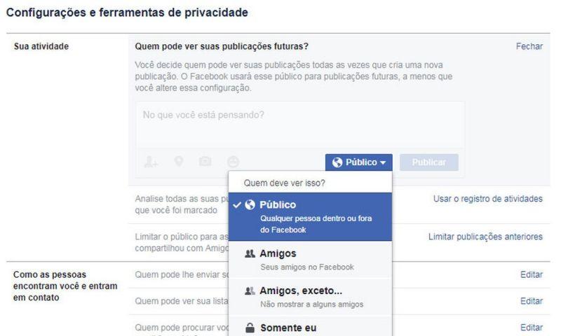 Falha no Facebook expõe posts privados de 14 milhões de perfis