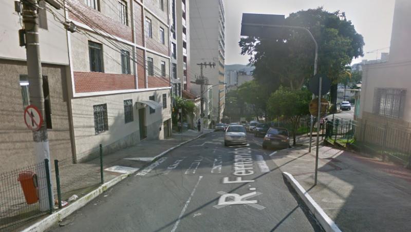 Rua Fernando Lobo, no Centro de JF, será interditada para obras nesta quinta-feira
