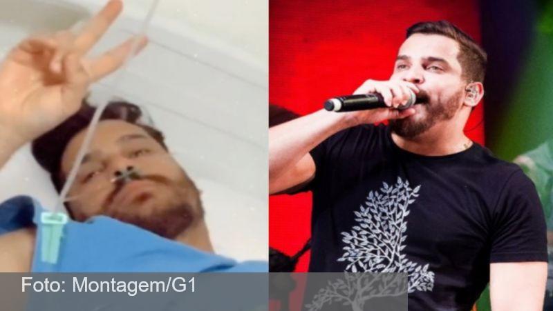 Com Covid-19, Cauan piora e tem 70% do pulmão comprometido em UTI de Goiânia, diz família