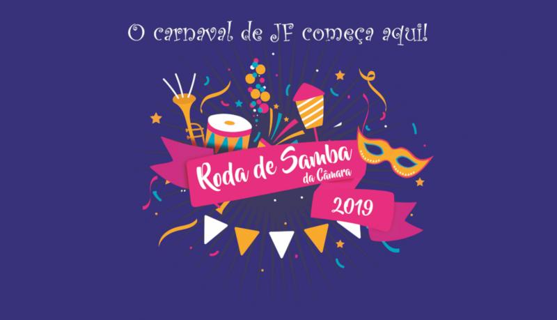 Roda de Samba da Câmara abre oficialmente Carnaval 2019 em JF