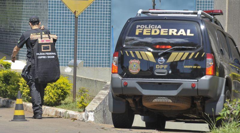 PF cumpre mandados contra lavagem de dinheiro em SP e Brasília