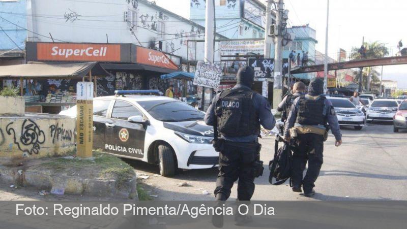 Polícia Civil realiza megaoperação no Complexo da Maré, na Zona Norte do Rio