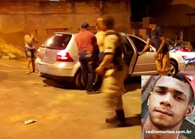 Jovem é baleado em Muriaé e morre a caminho do hospital