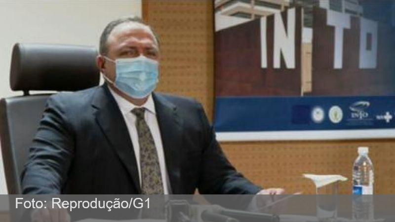 Pazuello diz que começa a distribuir doses amanhã e a vacinar na quarta