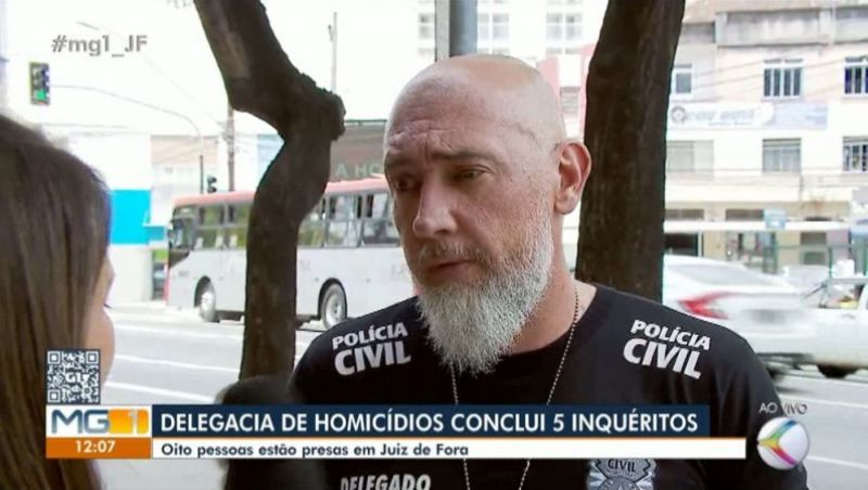 Polícia Civil conclui cinco inquéritos envolvendo homicídios em Juiz de Fora