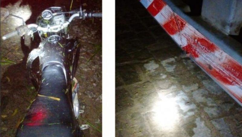 Motociclista bate na traseira de caminhão na saída para Miraí