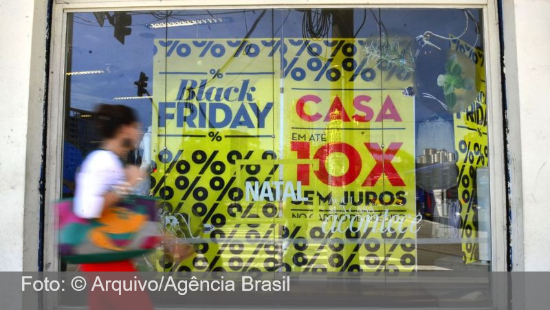 Varejo deve crescer até 3% em novembro puxado pela Black Friday