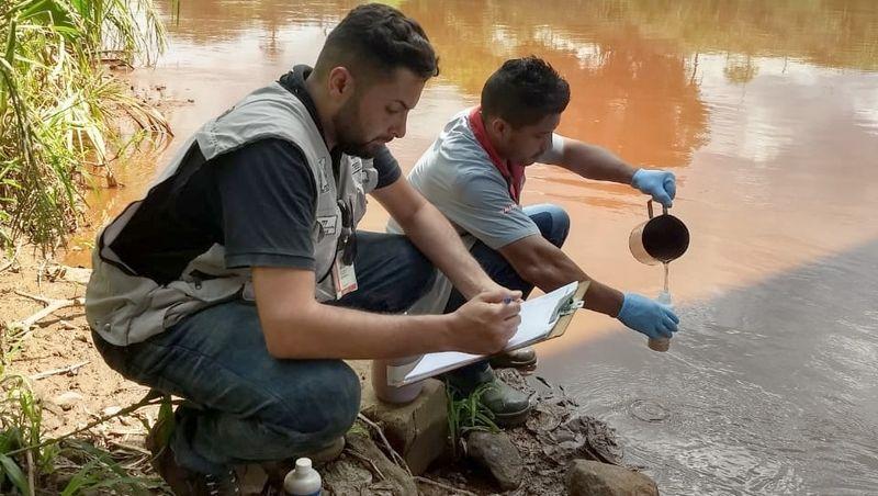 Igam instala novos pontos de monitoramento no Rio Paraopeba