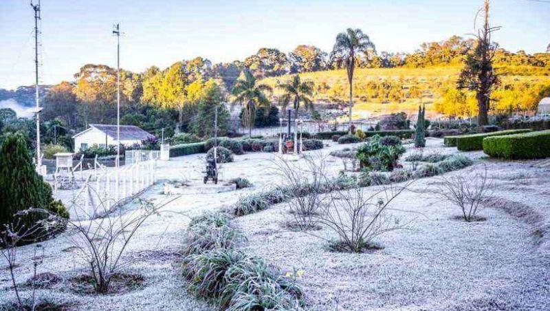 Frio bate recordes em Minas e em Belo Horizonte, com temperaturas mais baixas do ano