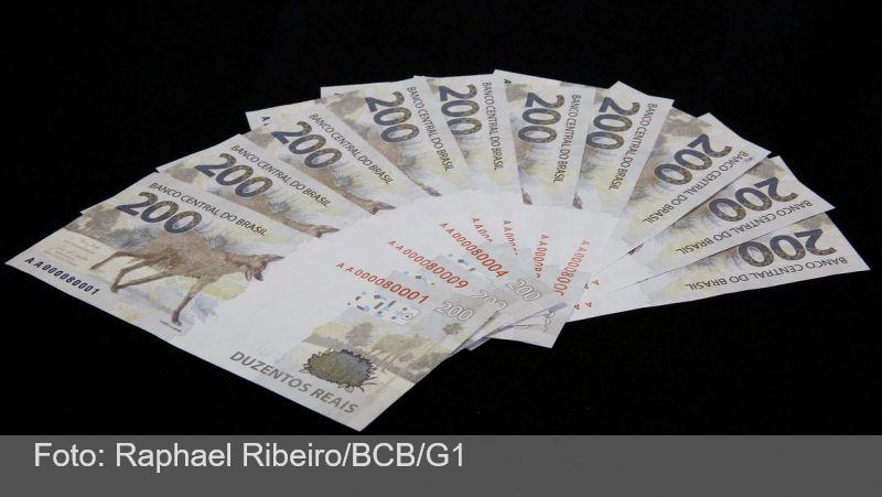 Nota de R$ 200: Defensoria Pública recorre à Justiça para que Banco Central retire cédulas de circulação