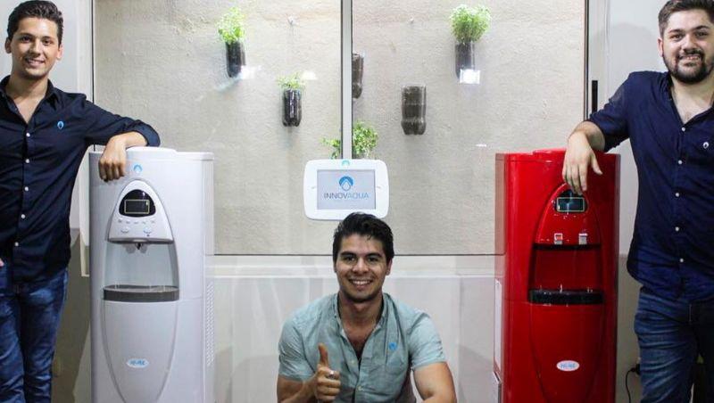 Jovens engenheiros criam máquina que transforma ar em água potável