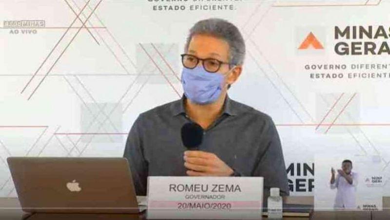 Zema garante que 'no segundo semestre as aulas retornarão'