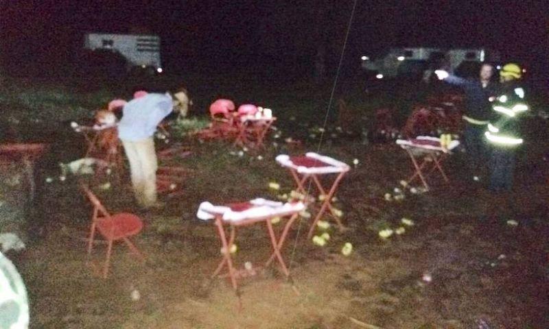 Duas pessoas morrem eletrocutadas e várias ficam feridas em Iturama, MG