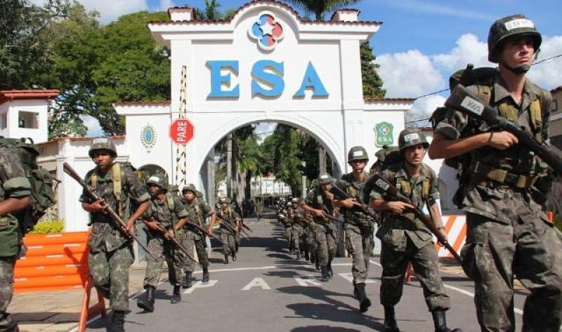 Exercito Brasileiro oferece concurso com 1.100 vagas para a ESA