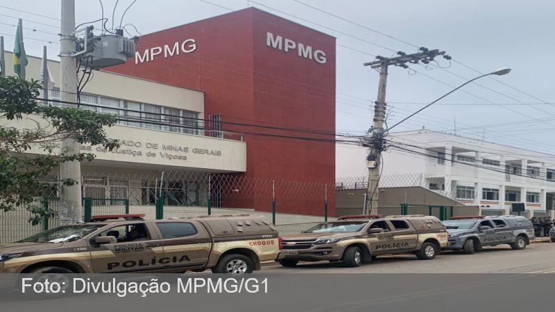 Operação 'Poder Paralelo' é feita em Viçosa e região contra organização criminosa
