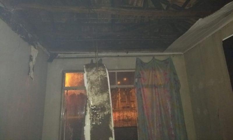 Incêndio danifica cômodo de imóvel em Barbacena