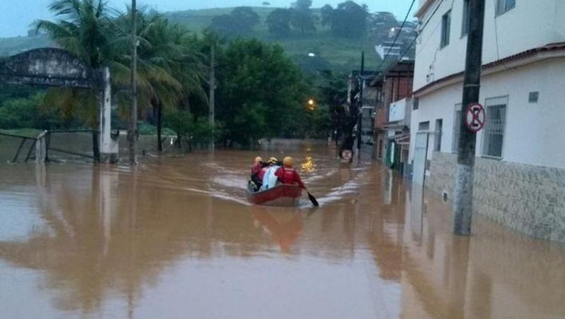 Cidades da Zona da Mata decretam situação de emergência em razão das chuvas e alagamentos