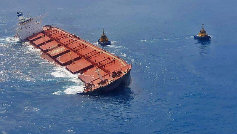 Retirada de óleo de navio encalhado no Maranhão deve começar no dia 8