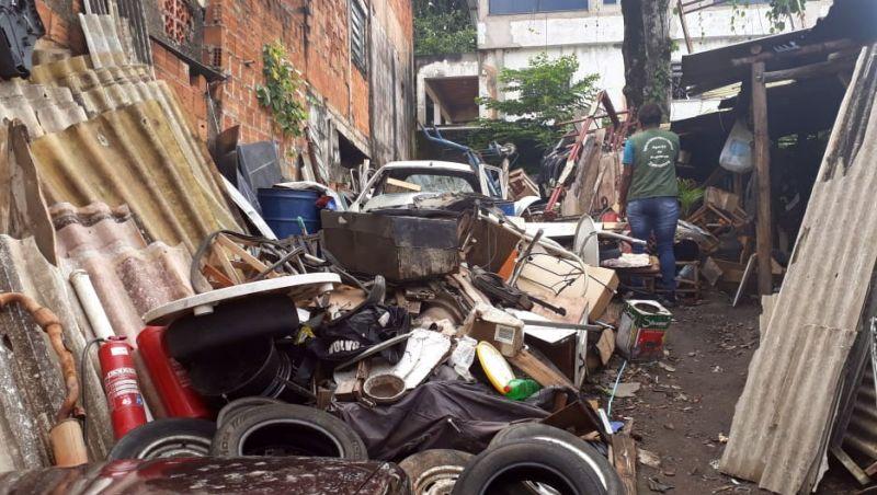 PJF realiza ações em vários pontos da cidade para eliminar focos do Aedes